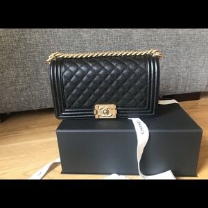Chanel Boy Bag Old Medium